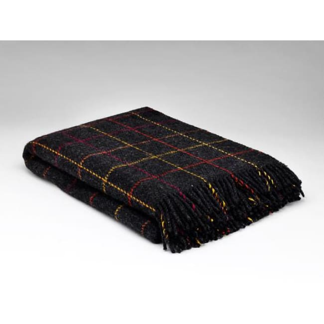 Firework Multi-check - Pure Wool Throw by McNutt