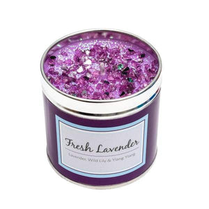Fresh Lavender Seriously Scented Candle by Best Kept Secrets
