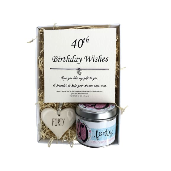 Gift Box - 40th Birthday