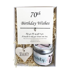 Gift Box - 70th Birthday