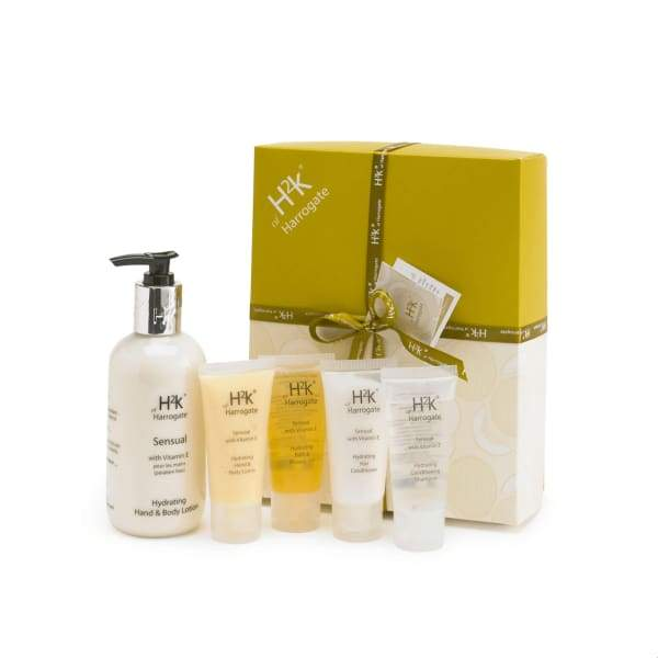 H2K Sensual Hand Cream And Mixed Mini Set Gift Box - Beauty - Pamper Pack