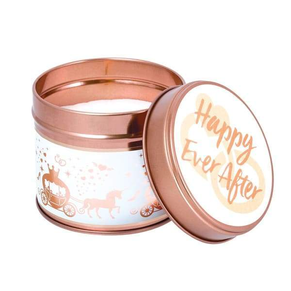 Happy Ever After Candle in a Tin by Stoneglow