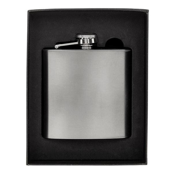 Hip Flask Gunmetal colour 6oz