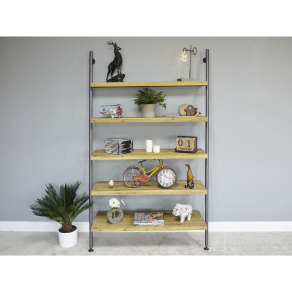 Large Lean-To Ladder Shelving Unit - Home - Storage