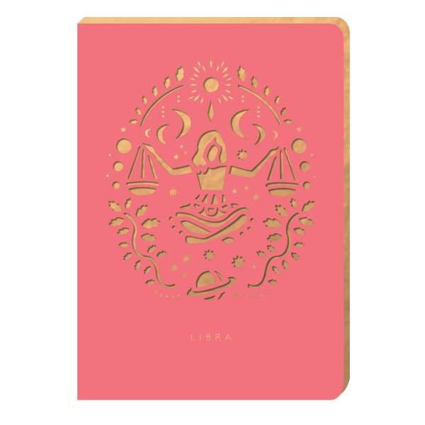 Libra Star-Sign Notebook - A6 - Notebook