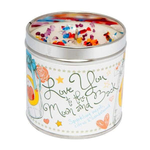 Love You To The Moon & Back Candle by Best Kept Secrets