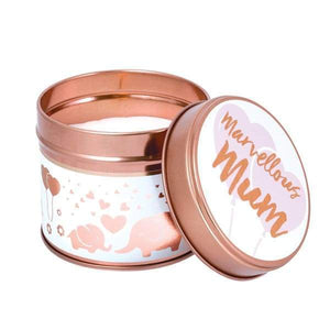 Marvellous Mum Candle in a Tin by Stoneglow
