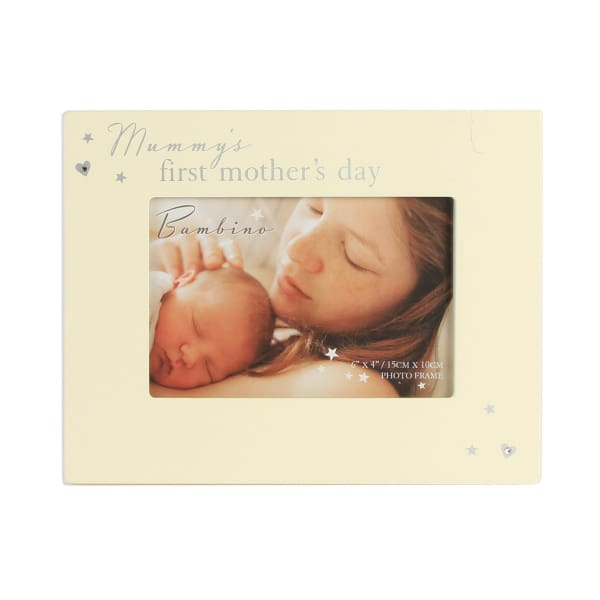 "Mummy's 1st Mothers Day - 6"" x 4"" Photo Frame By Bambino"