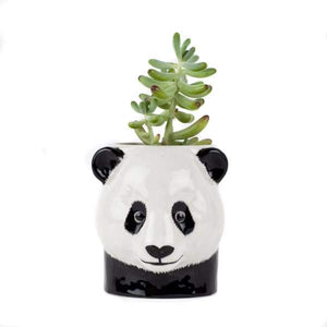 Panda Ceramic Pencil Or Flower Pot by Quail Ceramics