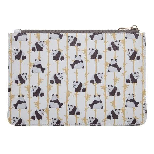 Panda Vegan Leather Pouch