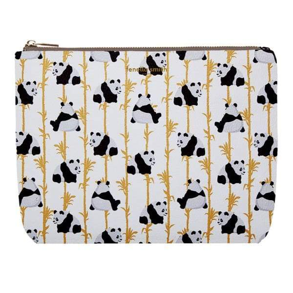 Panda Vegan Leather Wash Bag - Beauty - Wash Bag