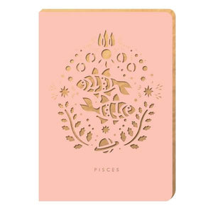 Pisces Star-Sign Notebook - A6 - Notebook