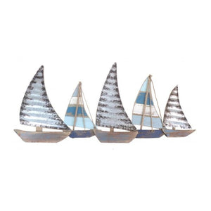 Sailing Boats Metal Wall Art - Home Decor - Wall Art