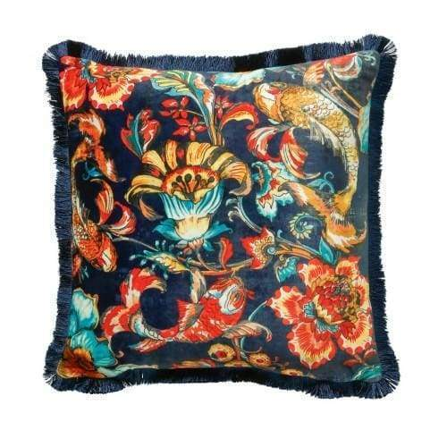 Scatter Box Koi Navy Cushion - 45cm - Home - Cushion