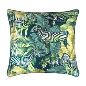Scatter Box Madagascar Green Cushion 45 x 45cm