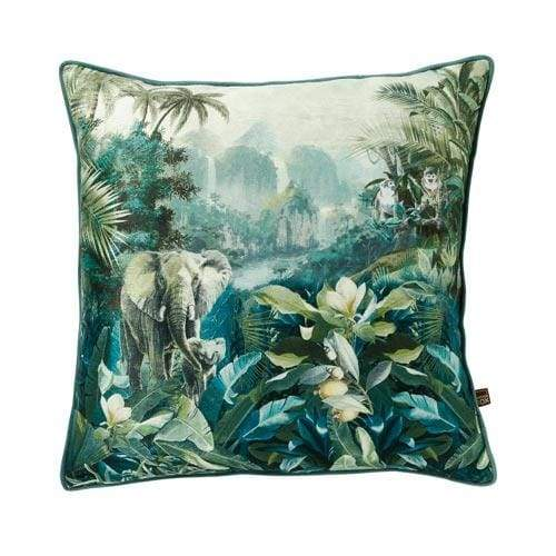 Scatter Box Malawi Cushion Green - 45cm