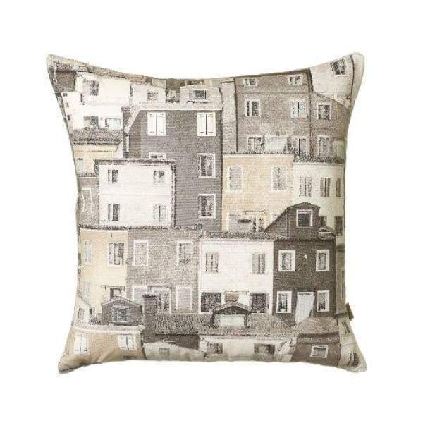 ScatterBox Townhouse Natural Cushion - 43cm