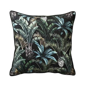 Scatter Box Wild Flora Black/Green Cushion - 45cm - Home - Cushion