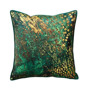 Scatter Box Zafron green/ochre Cushion - 45cm - Home - Cushion