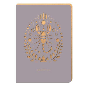 Scorpio Star-Sign Notebook - A6 - Notebook