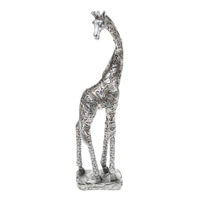 Silver Leaves Giraffe - Medium (38cm)