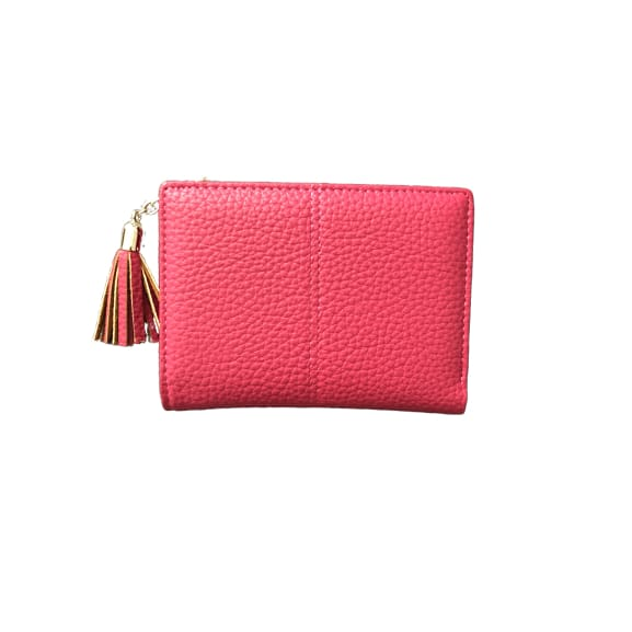 Small Faux Leather Purse in Pink by Peace of Mind