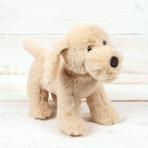 Snuggly Golden Puppy Dog For Babies Small