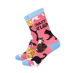 Socks Crazy Cat Lady