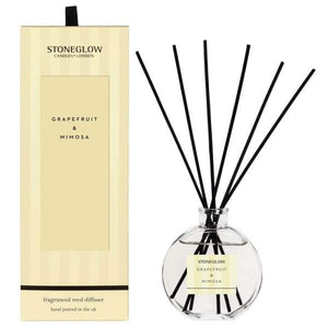 Stoneglow - Grapefruit and Mimosa Reed Diffuser - Home - Diffuser