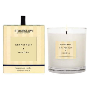 Stoneglow - Grapefruit and Mimosa Scented Candle - Candle
