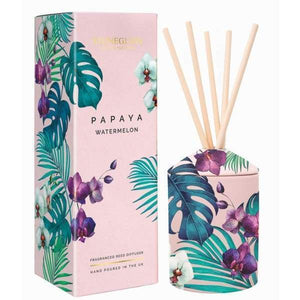 Urban Botanics - Papaya & Watermelon Ceramic Reed Diffuser - Home - Diffuser