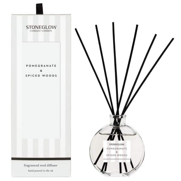 Stoneglow - Pomegranate & Spiced Wood Diffuser - Home - Diffuser