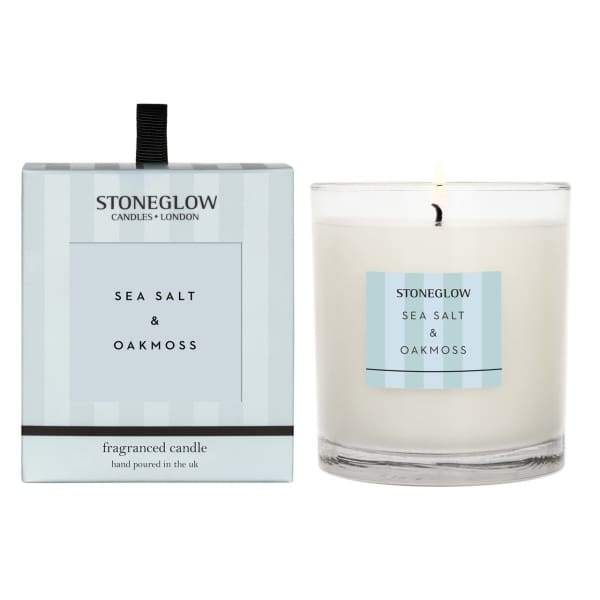 Stoneglow - Sea Salt and Oak Moss Scented Candle - Candle
