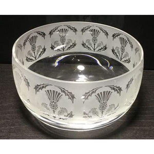 Thistle Small Glass Bowl - Glass Bowl