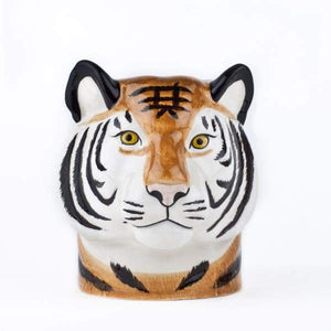 Tiger Ceramic Pencil Or Flower Pot by Quail Ceramics