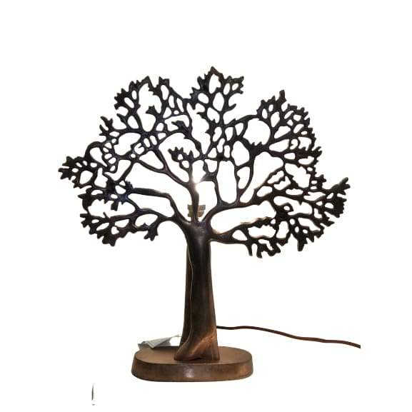 Tree Lamp Copper Colour (Small) Please contact store for on-line order to find out shipping cost
