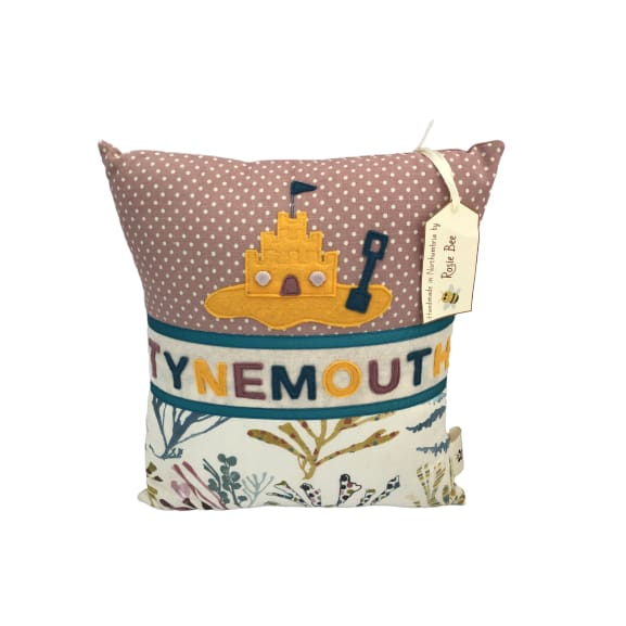 Tynemouth Cushion Small - Sandcastle Design