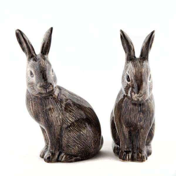 Wild Rabbit Figure By Quail Ceramics
