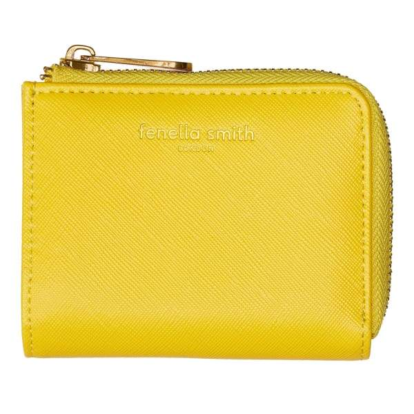Yellow Small Vegan Leather Purse - Fashion - Purse
