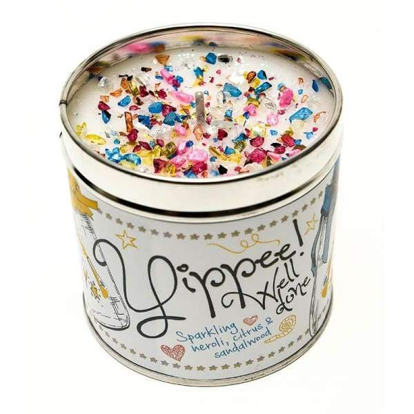 Yippee! Well Done Candle by Best Kept Secrets