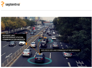 Septentrio GPS/GNSS helps cars work together to avoid collisions on a 'Smart Highway'