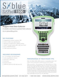 SXPad 1500 Data Collector (with keyboard)