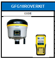 G10 GNSS ROVER KIT (last one)