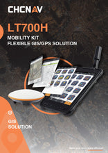 CHC LT700H Navigation mobility kit Flexible GIS/GPS Solution (NEW!)