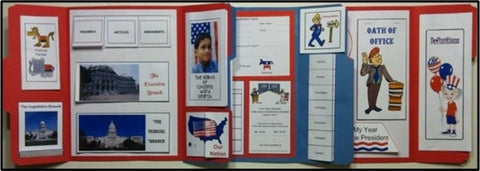 Government and Election Lapbook Grades 2-5