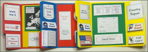 Wars of America Lapbooks