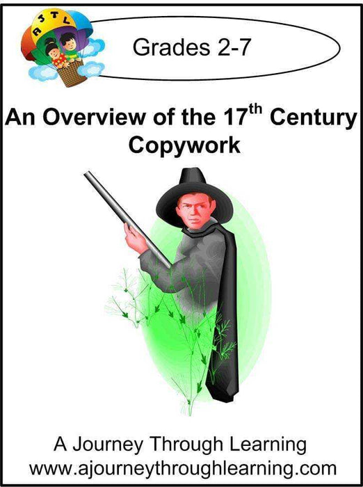 An Overview of the 17th Century Copywork (cursive letters) - A Journey Through Learning Lapbooks