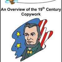 An Overview of the 19th Century Copywork (cursive letters) - A Journey Through Learning Lapbooks