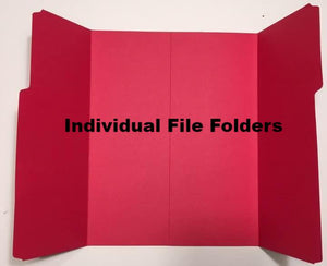 File Folders-Individual - A Journey Through Learning Lapbooks