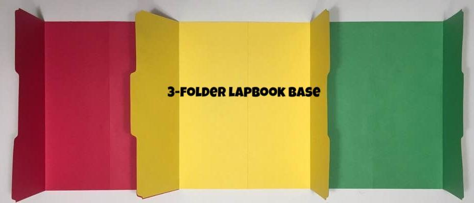 File Folders- Lapbook Bases - A Journey Through Learning Lapbooks